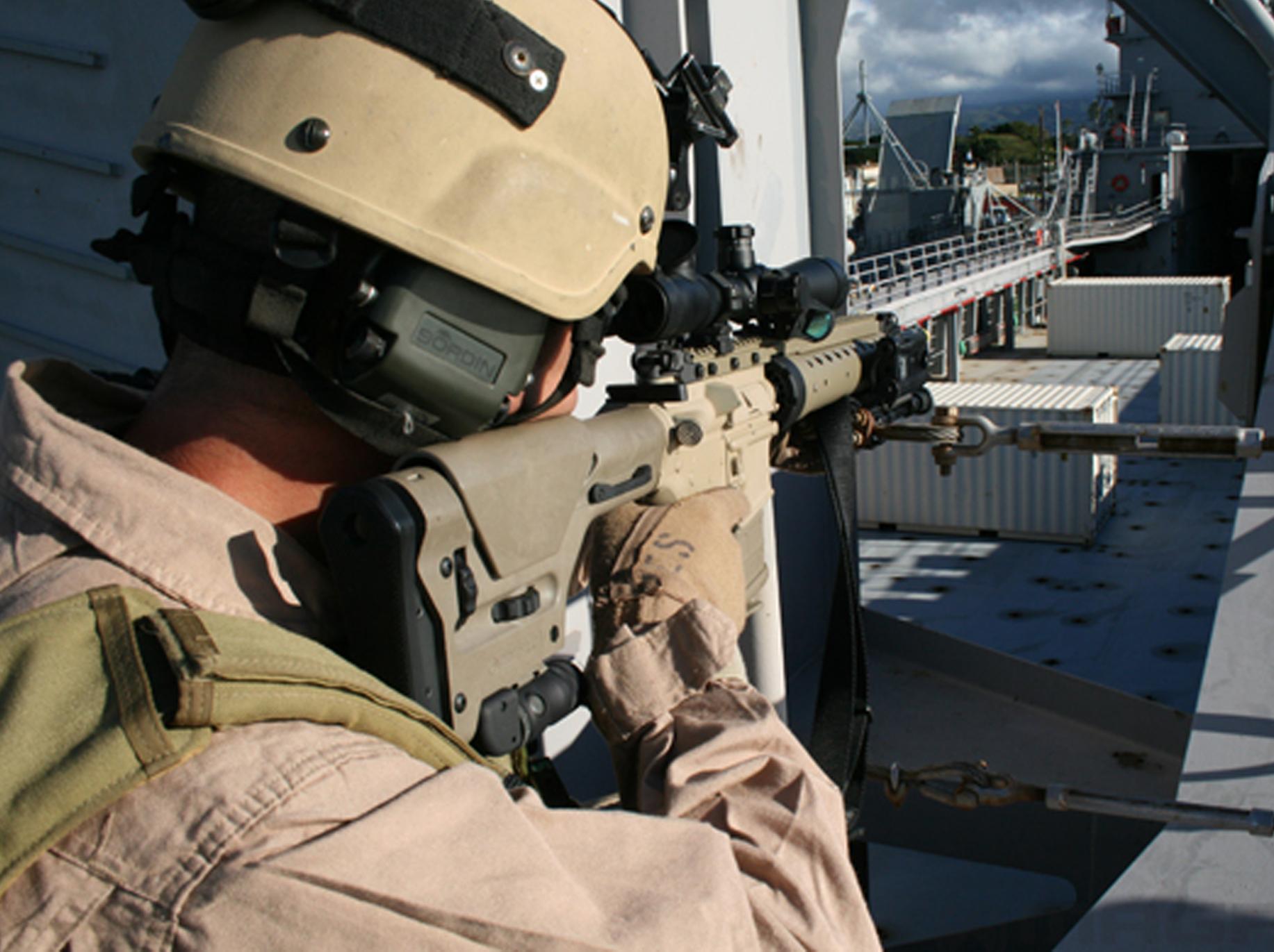 Magpul PRS AR-10 Sniper Stock Black MAG308-BLK | Black ...