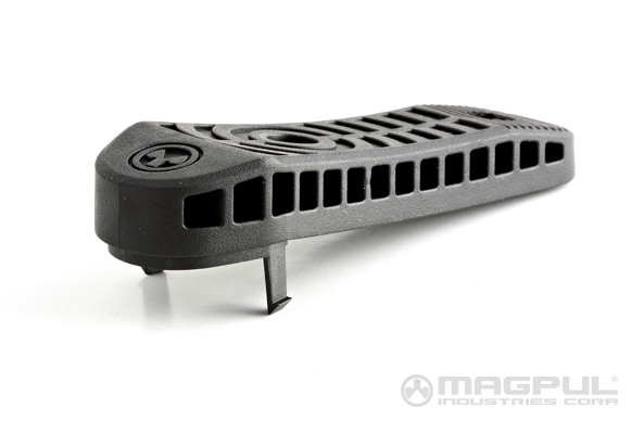 Magpul Industries Magpul Enhanced Rubber Butt Pad - Black