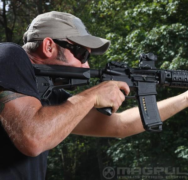 Magpul Industries Magpul ASC Carbine Stock Mil-Spec - Black