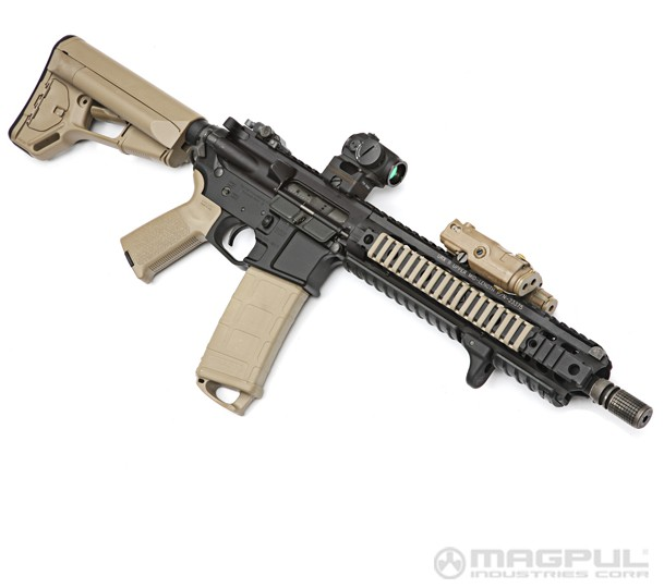 Magpul ASC Carbine Stock Mil-Spec - Olive Drab MAG370-OD Photo 3