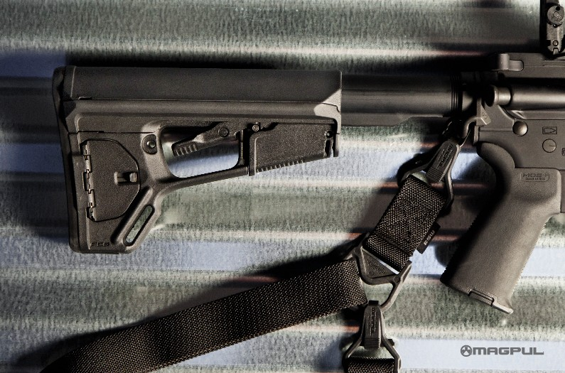 Magpul Industries Magpul ASC-L Carbine Stock Mil-Spec - Black