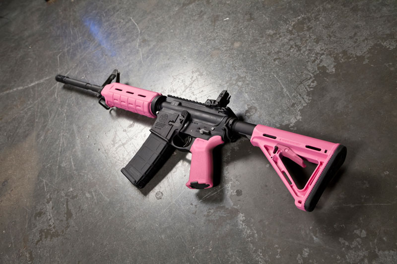 Magpul Industries Magpul MOE Carbine Stock Commercial Pink