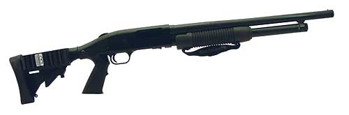 Mossberg 500 Tactical 12/18.5 6rd Mblk Cylinder Barrel