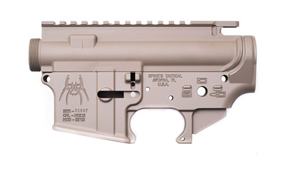 Spikes Tactical Stripped Upper Lower Set Dark Earth