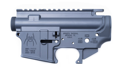 Spikes Tactical Stripped Upper Lower Set Grey