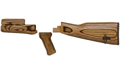 Tmbsmth AK47 Wood Stock Set(brwn Lam)