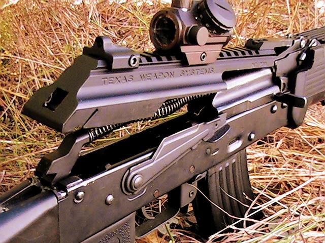 Texas Weapons Systems Dog Leg Dust Cover Rail Ak47 74
