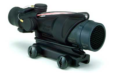 Trijicon ACOG 4x32 BAC Rifle Combat Optic (RCO) Scope with Red Chevronronronron Reticle for the USM