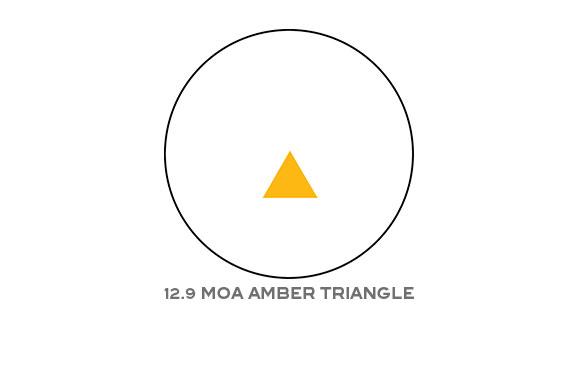 Trijicon Reflex 12 9 Moa Triangle Reticle With Flattop