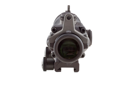 Trijicon Trijicon ACOG 4x32 Scope with Amber Center Illumination for M4A1 – includes Flat Top Adapter, Back