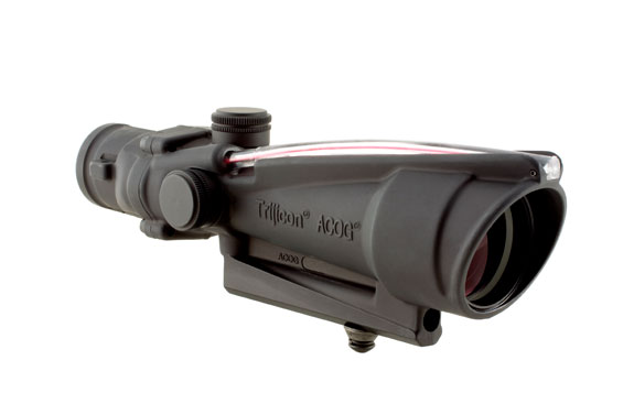 Trijicon Trijicon ACOG 3.5x35 Scope, Dual Illuminated Red Donut BAC Reticle calibrated for .308 (7.62mm)
