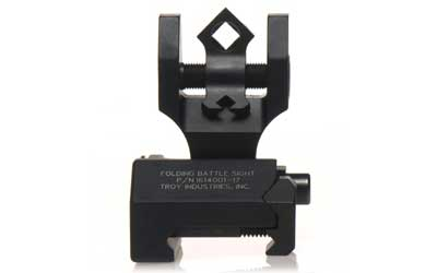Troy Folding Rear Di-optic Sight Black