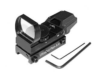Ultra Dot Aal Pana-v Multi Reticle Black
