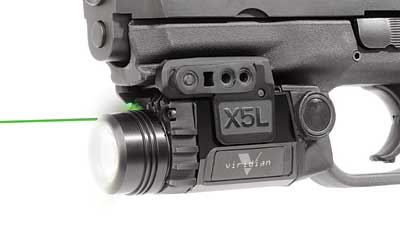 Viridian Green Laser X5L Laser Sight