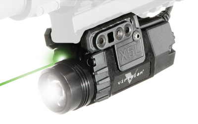 Viridian X5L-RS Light / Green Laser - Pressure Pad