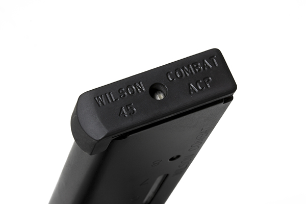 Wilson Combat 1911 Elite Tactical Magazine, .45 ACP HD/+P, Full-Size, 8 Round, Lo-Profile Steel Base