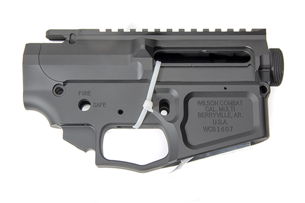 Wilson Combat Billet Upper/Lower Receiver, AR-Style, Matched Set TR-LOWUPP-BIL Photo 3